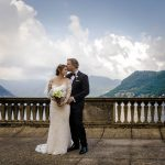 Destination wedding at Lake Como in Italy